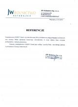 JW ROLNICTWO SP. Z O.O.- Referencje dla Firmy OGBET