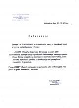 ROD Florian- Referencje dla Firmy OGBET