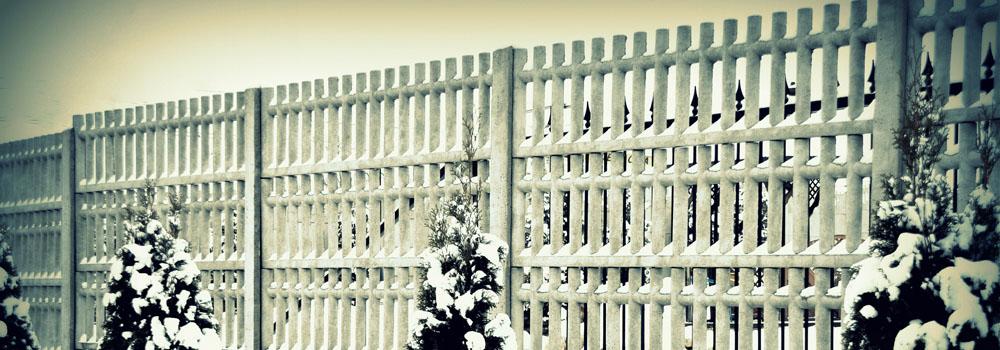 ogrodzenie z betonu ozdobne