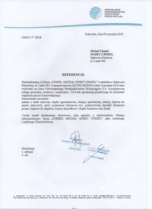 Górnośląskie Przedsiębiorstwo Wodociągów - Referencje dla Firmy OGBET