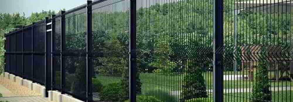 panelowe ogrodzenie